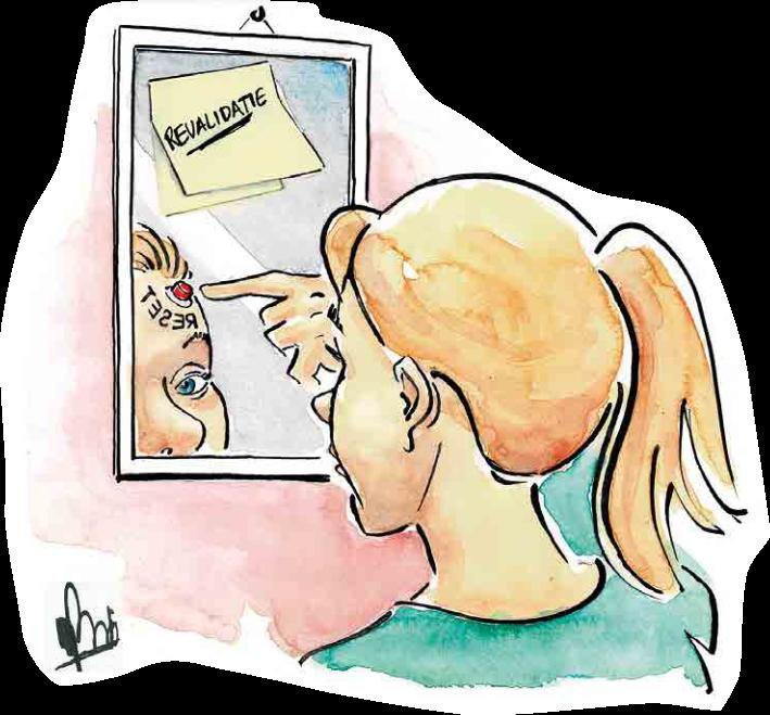 Wees mild voor jezelf – een revalidatietraject